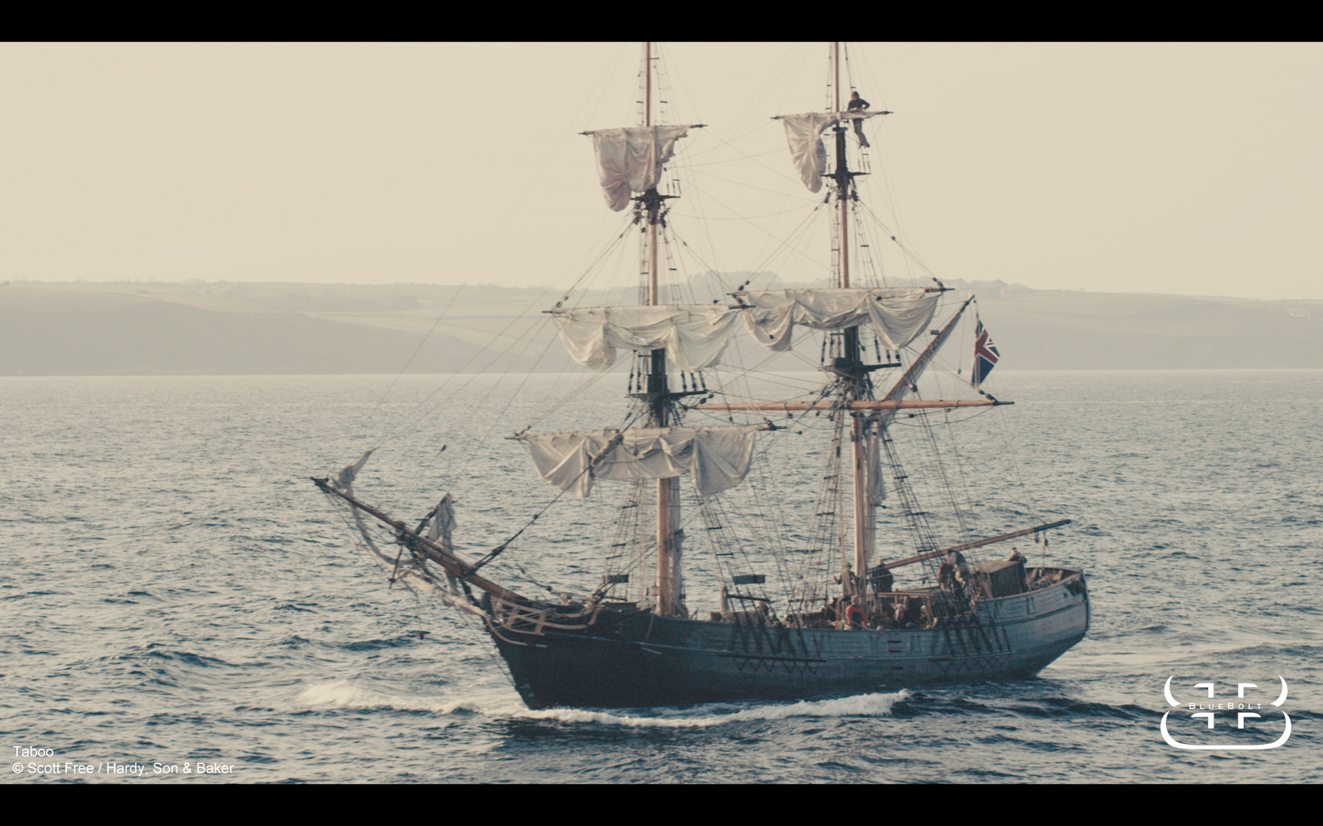 footage of Phoenix tall ship