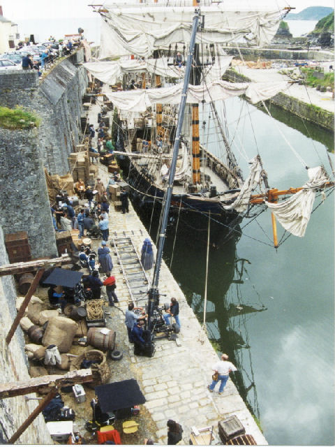 period harbour as film location