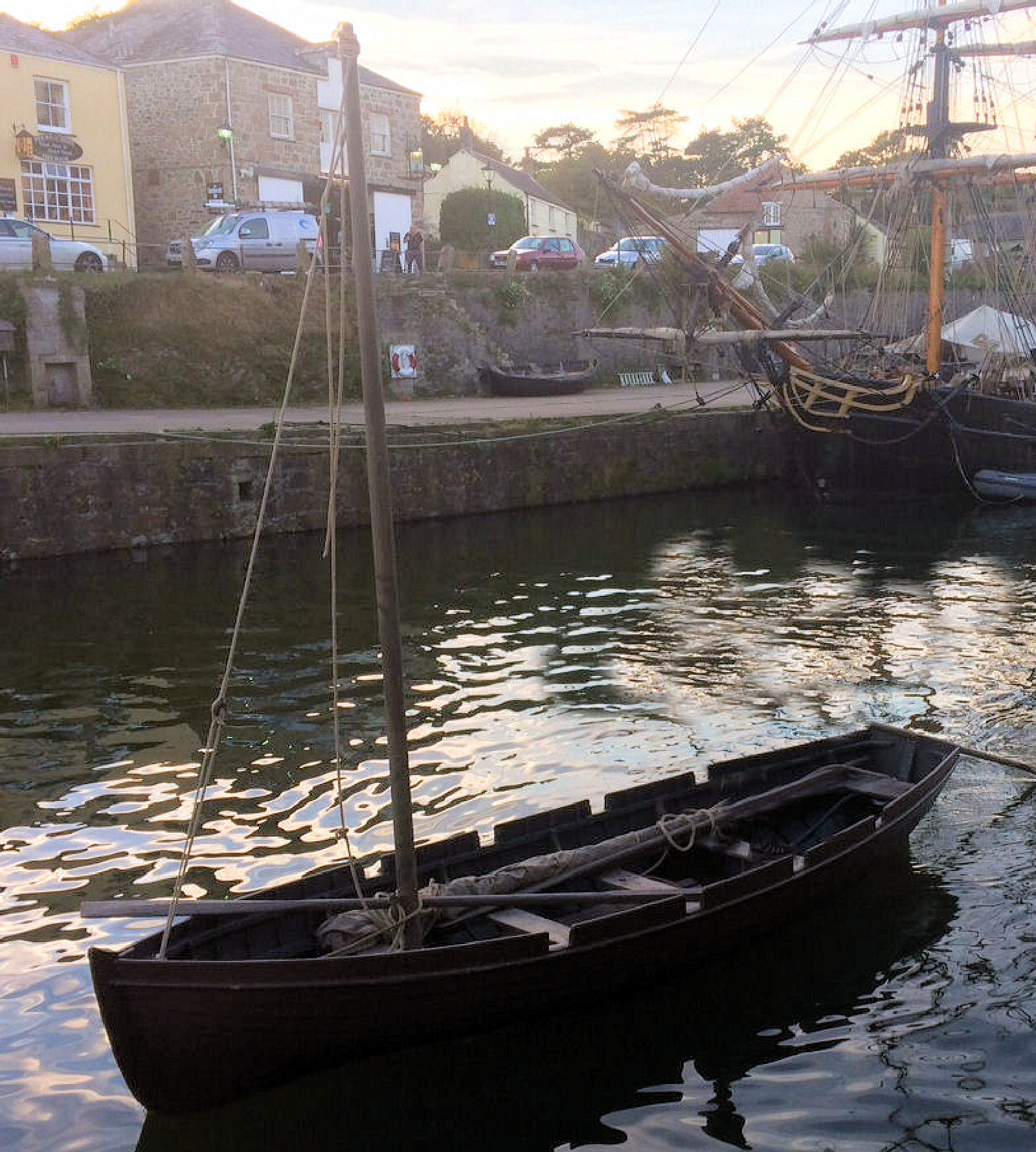 Square Sail Provide Period Longboats For Filming