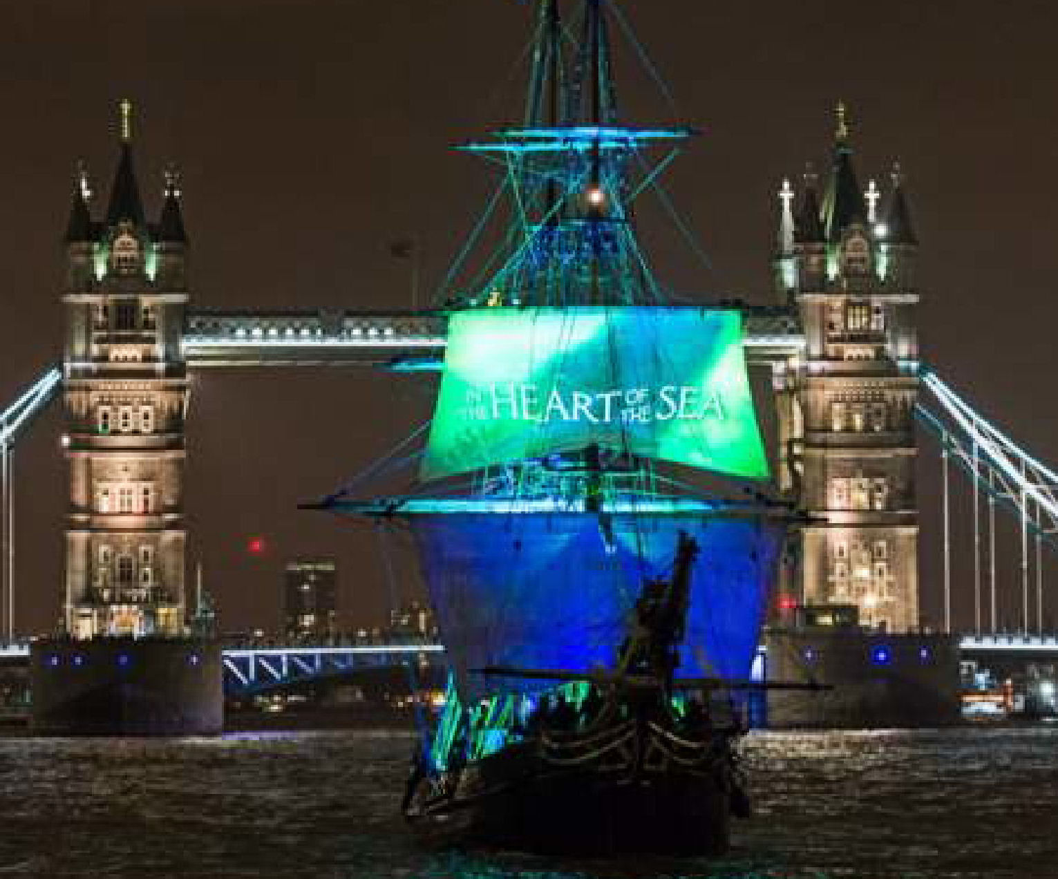 film launch on Thames