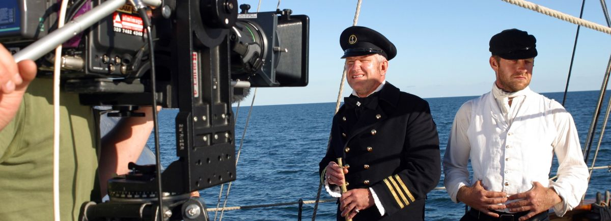 filming at sea